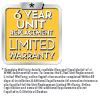 6 Year Unit Replacement warranty