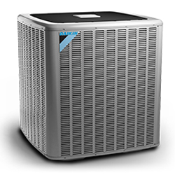 A Daikin heat pump